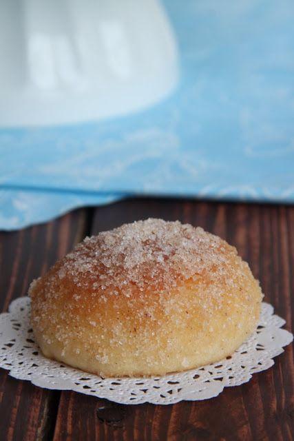 Мини суфганиёт(пончики)с сахаром и корицей - Сладкий мир