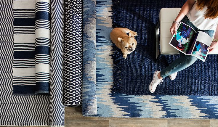 Refresh any room in your house with one of these beautiful area rugs that will complement your home's decor.