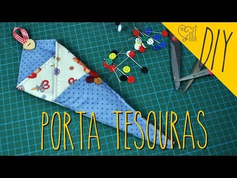 DIY Porta Tesoura( fácil) - YouTube