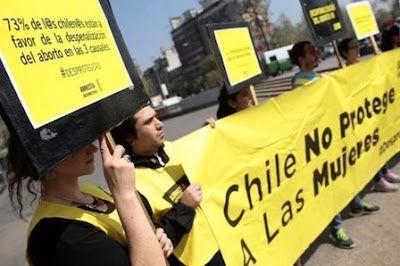 Obligadas a parir: el complicado encaje del aborto en Latinoamérica.  Chile avanza hacia una ley de supuestos mientras que en Argentina las trabas políticas han congelado el debate durante más de 10 años.  José J. Jiménez | El Diario, 2017-08-05 http://www.eldiario.es/canariasahora/internacional/Aborto-Mujeres-Latinoamerica_0_672282796.html