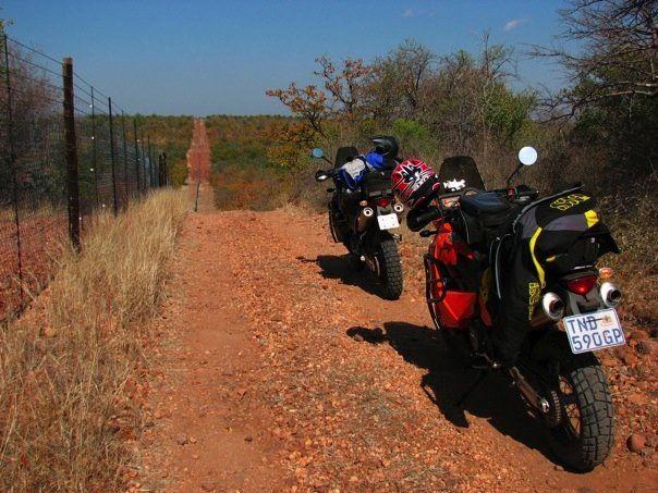 Makhuya Park border patrol