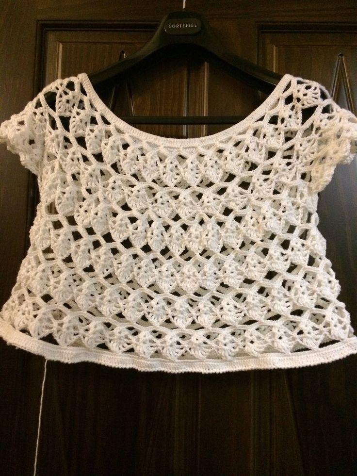 Jersey de hilo hecha a mano de VivoTejiendo en Etsy https://www.etsy.com/es/listing/540239283/jersey-de-hilo-hecha-a-mano