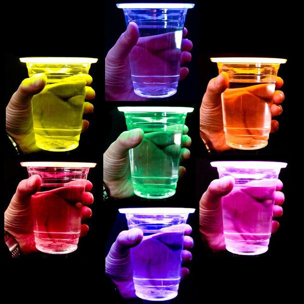 Glow Party Cups - perfect for any party....plus they are super cool!!!