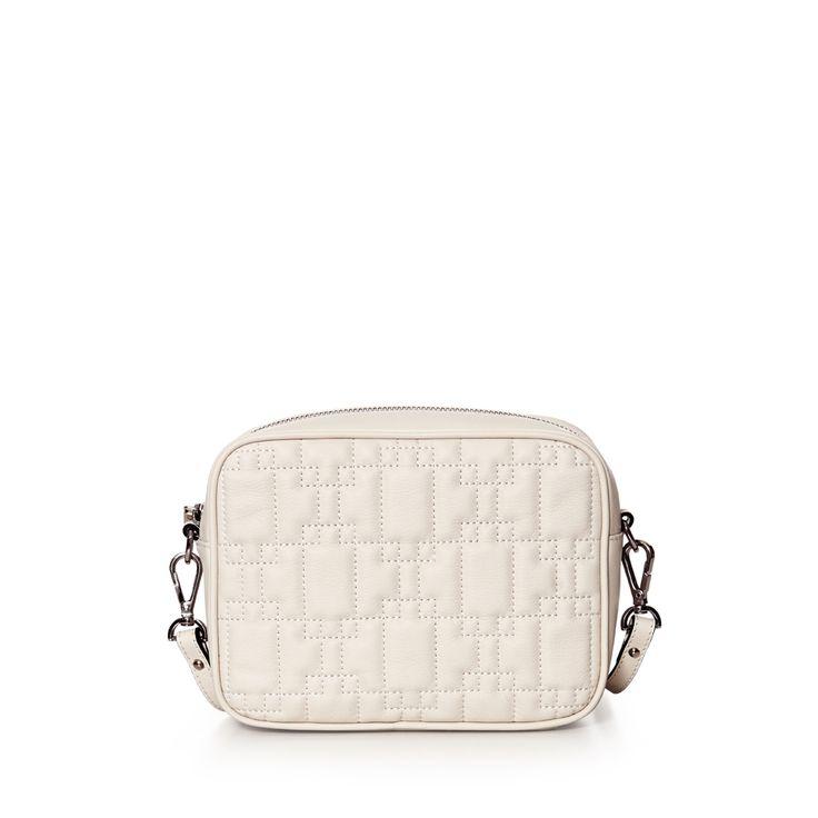 DECADENT 259 Small cross over bag Cream