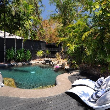 Thirty One Degrees, Port Douglas. Tropical pool.