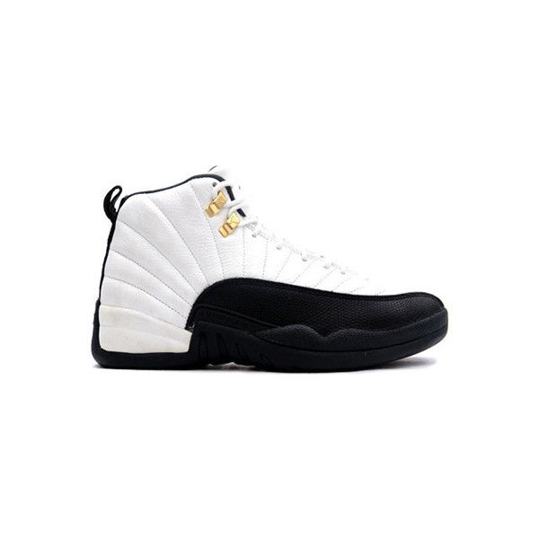 best service 45442 8303e ... Retro Rising Sun Air Jordan 12 ( 135) ❤ liked on Polyvore featuring  shoes, jordans, sneakers ...