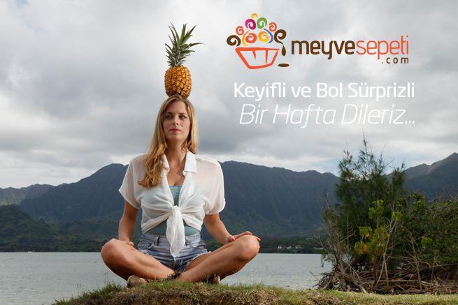 Meyvesepeti.com olarak keyifli ve bol süprizli bir hafta dileriz... #meyvesepeti #meyvebuketi