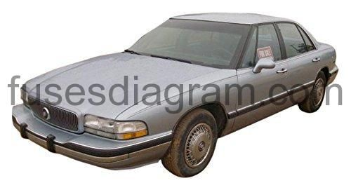 Fuse box diagram Buick LeSabre, 1992, 1993, 1994, 1995 ...
