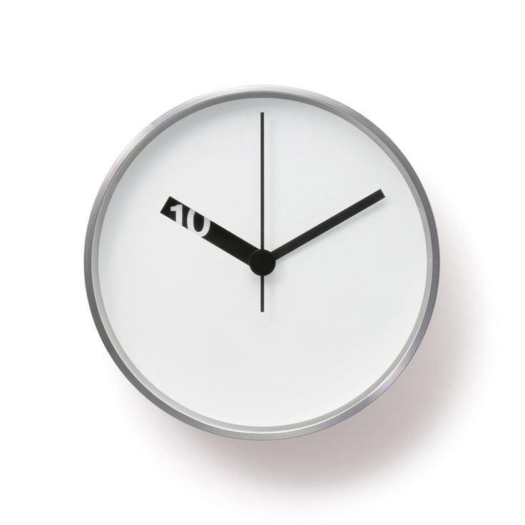 Extra Normal wall clock white / design by Ross McBrideClocks White, Des Heure, Aiguille Des, Minimalist Clocks, Wall Clocks, Extra Normal, Normal Wall, Design, Ross Mcbride
