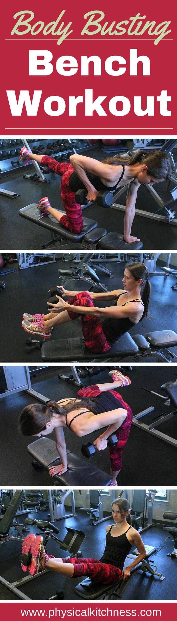 All-in-one total body workout that targets multiple muscle groups in a short amount of time!