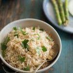 Pilaf de arroz integral