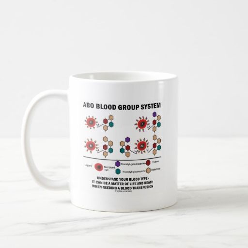 "ABO Blood Group System Understand Blood Type #health #medicine #ABO #bloodgroup #system #bloodtypes #blood #medical #biology #immunology #geek #wordsandunwords Here's a mug featuring the ""ABO Blood Group System""."