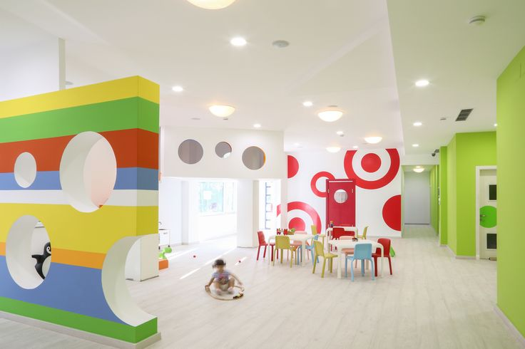 Snow Junior #chair for BIM BAM BUM KINDERGARTED- Tirana, Albania  #design #Pedrali