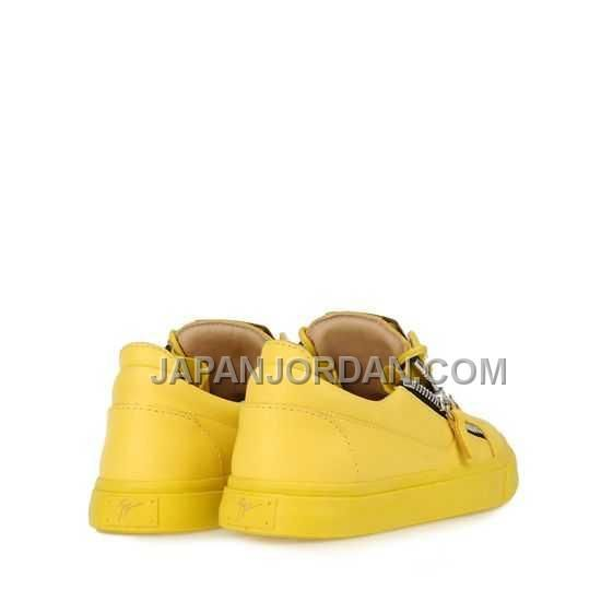 http://www.japanjordan.com/giuseppe-zanotti-womens-lowtop-sneakers-yellow-leather.html ホット販売 GIUSEPPE ZANOTTI WOMENS LOW-TOP SNEAKERS 黄 LEATHER Only ¥14,271 , Free Shipping!