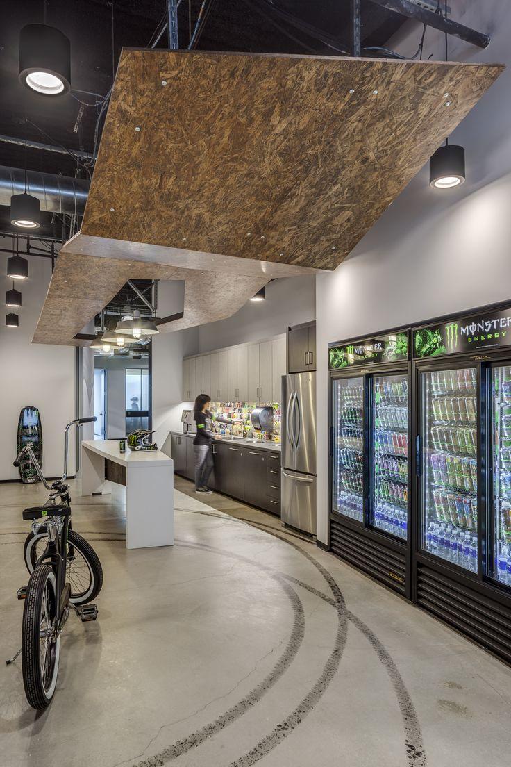 Monster Energy Headquarters Commercial Interior Design