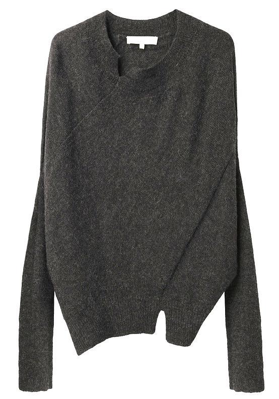 Vanessa Bruno / Seam Detailed Sweater. via Rennes