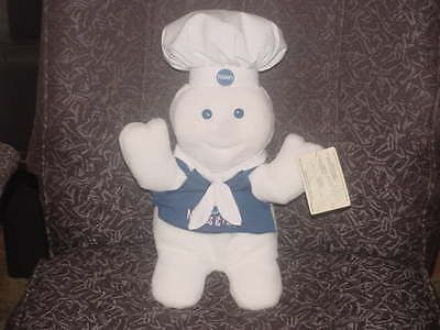 15 Giggling Pillsbury Dough Boy Plush Toy Flocked Face From 1996 Super Nice
