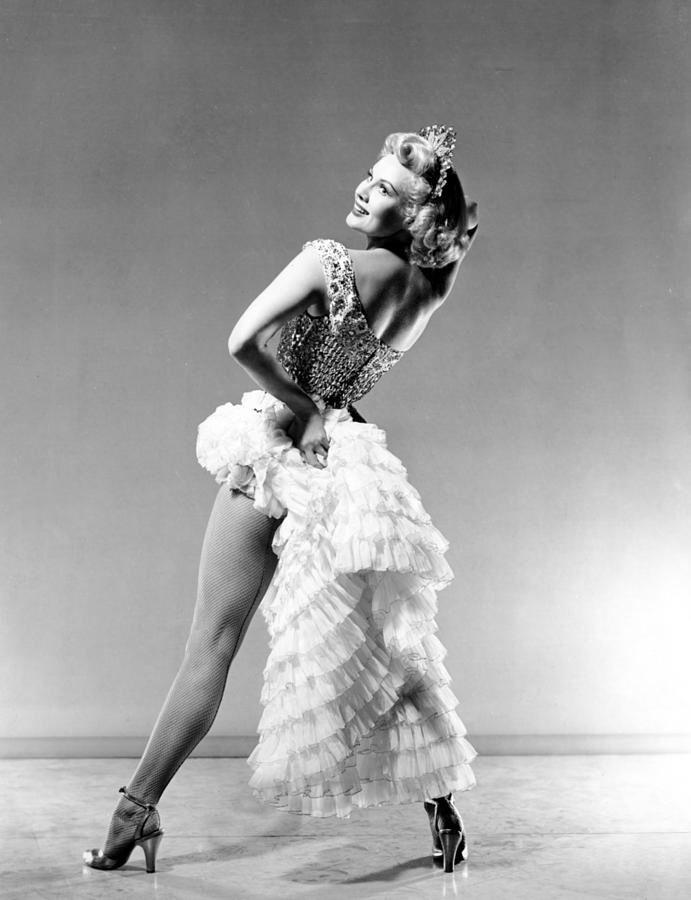 Virginia Mayo, 1940s