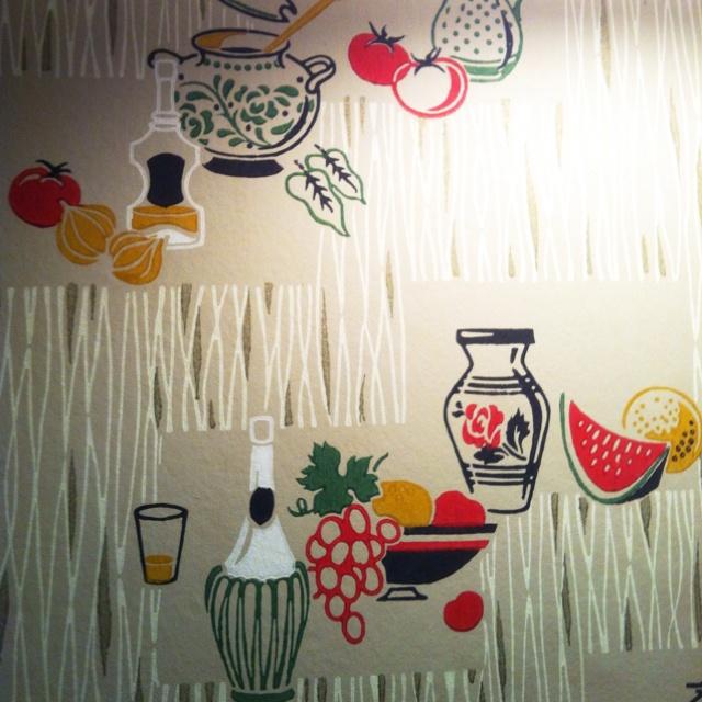 Adorable wallpaper at Parm.
