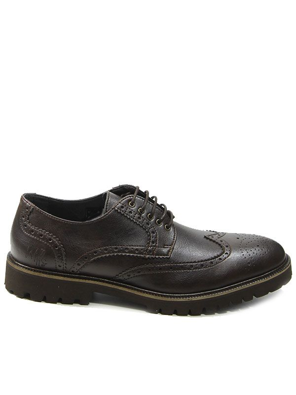 Continental Brogues in dark brown. Welted soles need the side profile to  show them off. Brogue ShoeBroguesVegan ShoesSide ...
