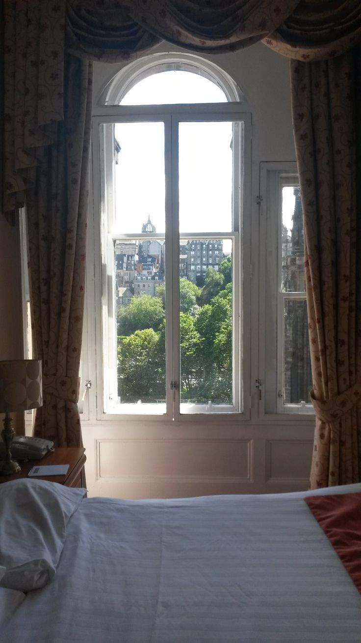 A great view from one of our bedrooms! Book your next stay at www.oldwaverley.co.uk.