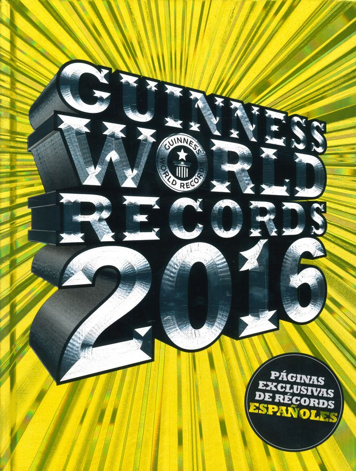 Guinness world records 2016 (Planeta)