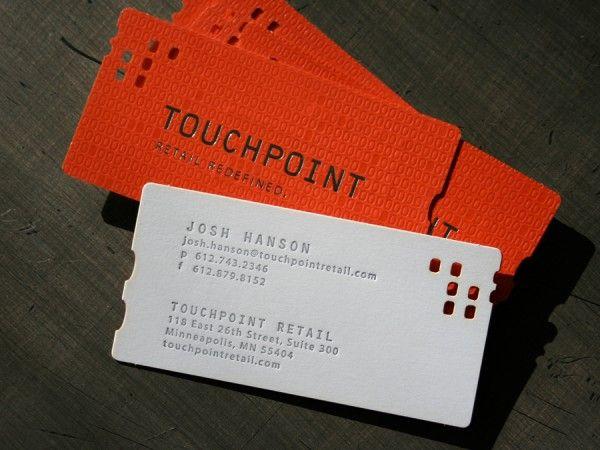 137 best Business Cards Letterpressed or Debossed images on - letterpress business card