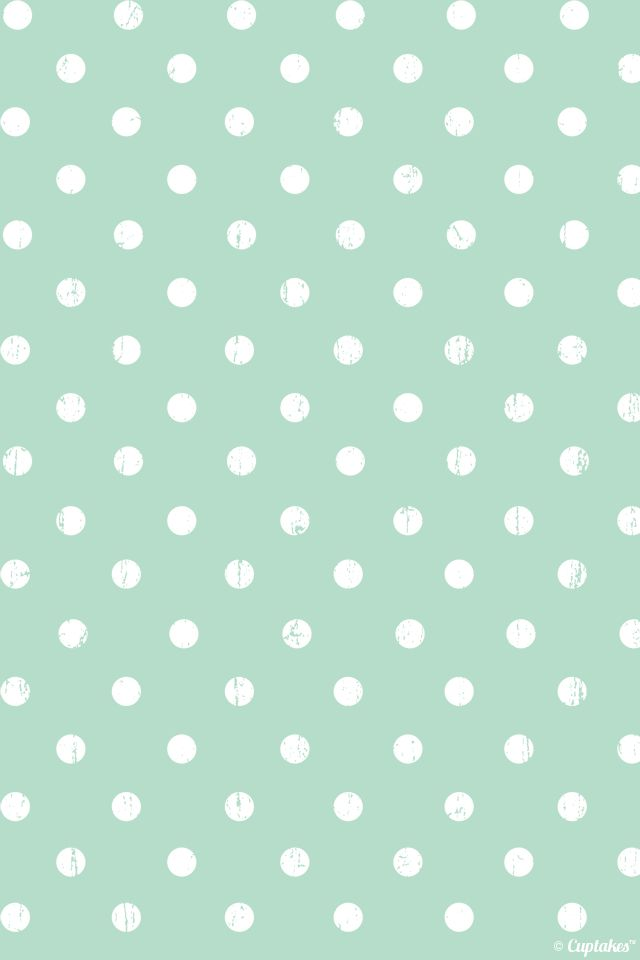 polka dot mint