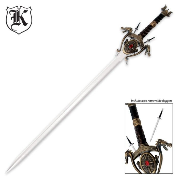 Medieval Dragon Sword | BUDK.com - Knives & Swords At The Lowest Prices!