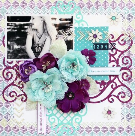 Wishful Thinking layout by Steph Devlin for Prima!