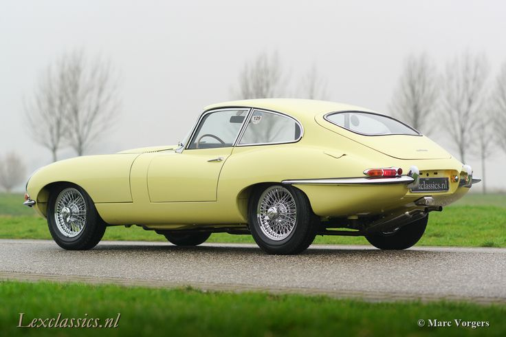 Jaguar E-type S1 Coupe 3.8 1963