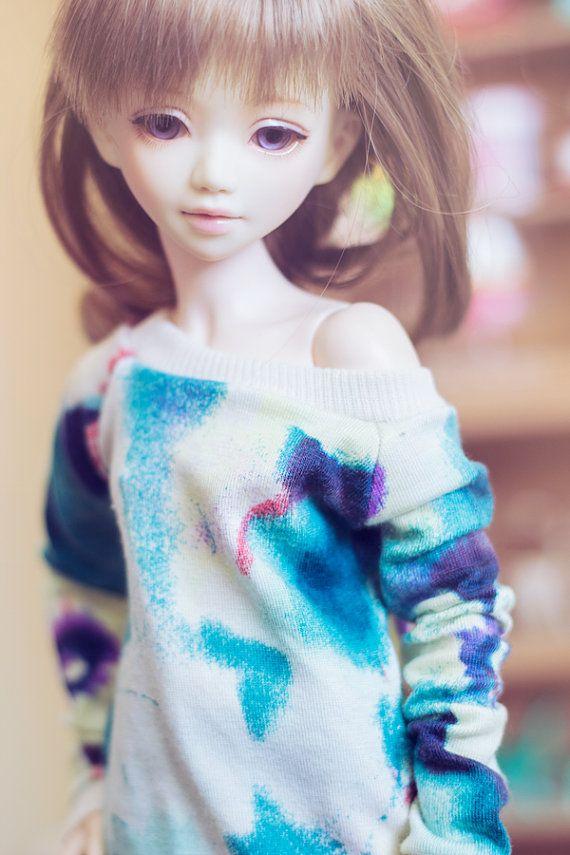 Fresh Summer sweater for MSD size bjd dolls Unoa by sugardollshop, $18.00