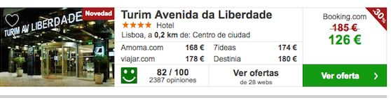 Turim Avenida da Liberdade Viajesparavacaciones.com