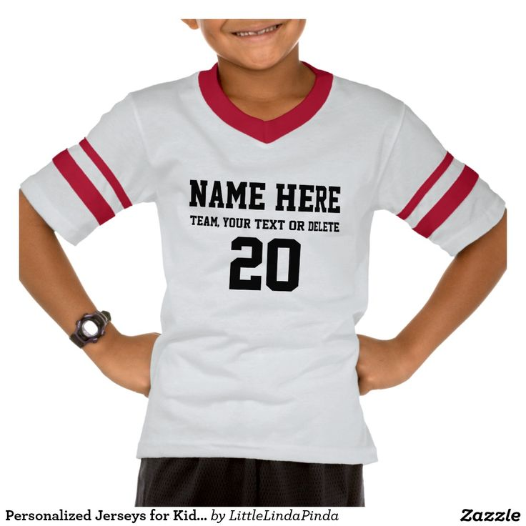 17 best images about all sports gifts on pinterest texts for Toddler custom t shirts no minimum