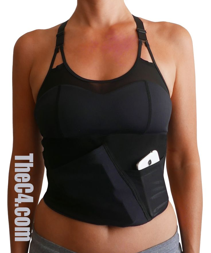 Sports Bra for Concealed Carry from TheC4.com