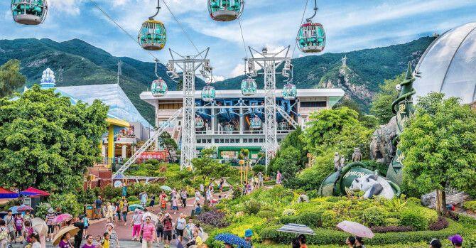 Top 20 things to do in Hong Kong: Ocean Park