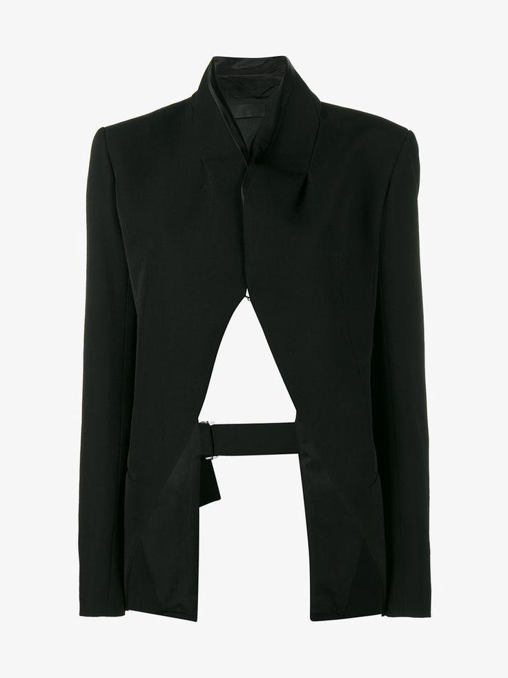 Haider Ackermann open back blazer