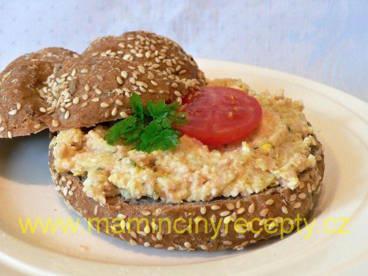 Salámová pomazánka s vejci