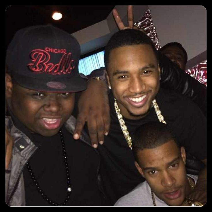 Trey Songz & his brothers, Forrest & Alex | Trigga Trey ...