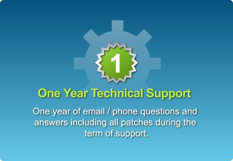 The support package can be renewed without price change every year until product version is retired.