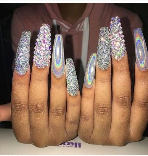Prom Nail Ideas For Long: Nails Image