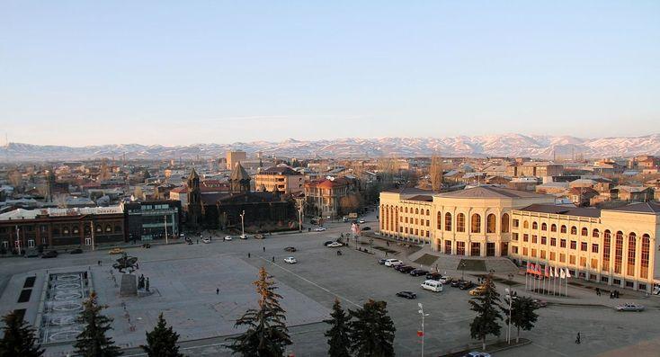 Gyumri general view from the central square ◆Armenia - Wikipedia http://en.wikipedia.org/wiki/Armenia #Armenia