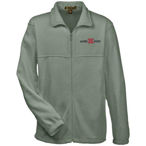 Embroidered Fleece Full-Zip