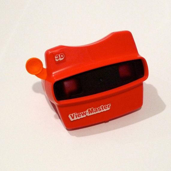 Red Viewmaster Stereo Film Card View Master by plattermatter2, $24.00