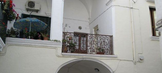 Appartamento nel centro storico di Gallipoli - Ospedale Vecchio: appartamento in una tipica casa a corte del '500 a Gallipoli.