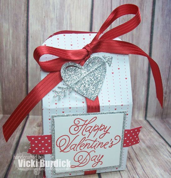 treat holder treat box valentine treats valentine cards valentine decorations heart cards homemade cards gift bags holiday crafts - Party City Valentine Decorations