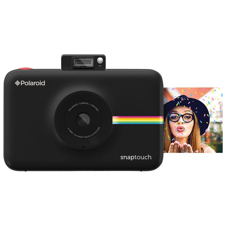 Polaroid SNAP TOUCH 13MP Digital Camera with Instant Printer - Black : Instant Cameras - Best Buy Canada