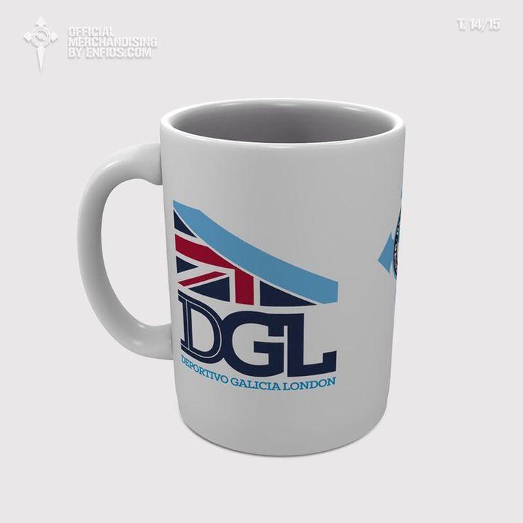 Taza DGL. Próximamente a la venta en http://www.omerchandising.com/en/list/category/deportivo_galicia_london