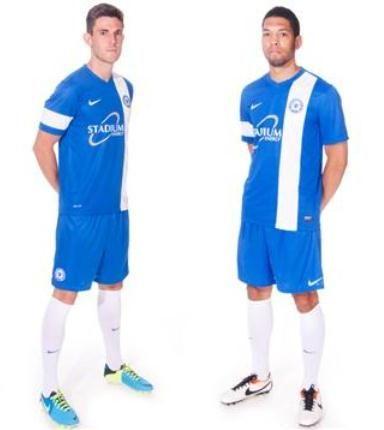 Peterborough United 2013/14 Nike Home Kit