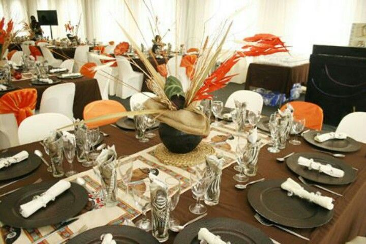 17 best images about 21st on pinterest wedding country for African party decoration